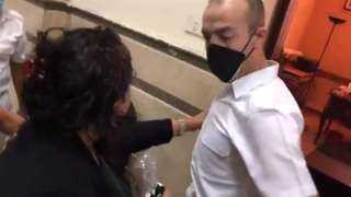 تفاصيل الحكم على سيدة المحكمة المتهمة بالتعدي على ضابط شرطة