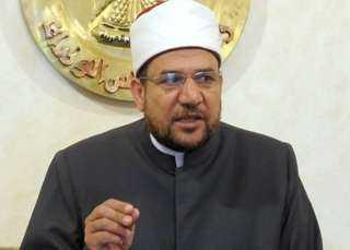 وزير الأوقاف: بيوت الله في مصر ستظل مفتوحة