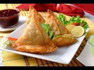 طريقة عمل سمبوسة باللحم وكنافة على إفطار رمضان