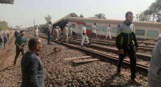 حادث قطار طوخ.. الصحة: إصابة 97 مواطنا والوزيرة تتوجه إلى القليوبية