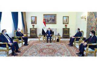السيسي يؤكد عمق العلاقات الاستراتيجية بين مصر والولايات المتحدة