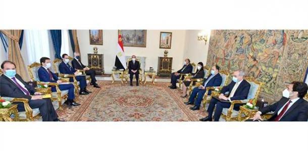 السيسي يستقبل وزير الاقتصاد الفرنسي ويتفقان على تعزيز الاستثمارات في السوق المصري