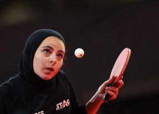 أولمبياد طوكيو 2020 .. دينا مشرف تودع منافسات فردي السيدات لتنس الطاولة
