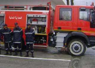 إخماد حريق هائل في مصنع أثاث خشبي بالغردقة .. و5 ملايين جنيه خسائر أولية