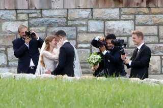 الملياردير الأمريكي بيل جيتس يحتفل بزفاف ابنته من الفارس المصرى نايل نصار