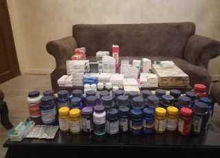 «صحة القاهرة» تضبط ٥٠ ألف «قرص مخدر» بمخزن بالمعادي