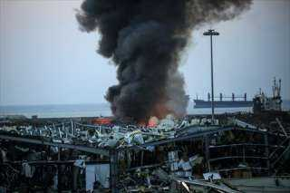 الرئيس اللبناني: التحقيق في انفجار ميناء بيروت مستمر لتحديد المسئوليات وفقا للقانون